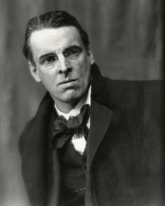 Poet Yeats. Born William Butler Yeats 13 June 1865, Sandymount, Ireland. Died 28 January 1939, Menton, France