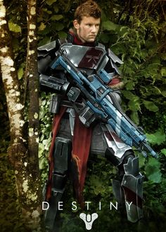 Destiny Titan cosplay by @AndrewCookDFT