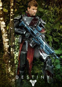 Destiny Titan cosplay by @AndrewCookDFT