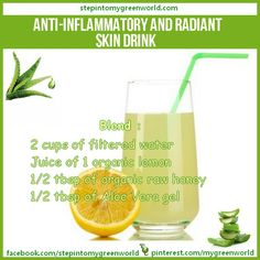 Drinking aloe vera juice ( comestible kind ) will heal your digestive track!