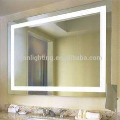 17 diy vanity mirror ideas to make your room more beautiful diy light up bathroom mirror wall mirrors light up wall mirror lighted wall mirror light up bathroom mir aloadofball Image collections