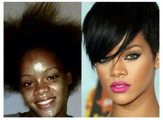 {Grow Lust Worthy Hair FASTER Naturally}        ========================== Go To:   www.HairTriggerr.com ==========================              Throwback Thursday!  Young Rihanna....Wow, what a difference!