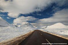 The A 82 through Glen Coe, Scottish Highlands