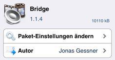 Bridge: MP3 & Musik von iPhone auf PC übertragen - Jailbreak Tweak für iOS 7 & iPhone 5s machts möglich! - http://apfeleimer.de/2013/12/bridge-mp3-musik-von-iphone-auf-pc-uebertragen-jailbreak-tweak-fuer-ios-7-iphone-5s-machts-moeglich - Der Jailbreak Tweak Bridge 1.1.4 von Jonas Gessner ist jetzt kompatibel mit dem iOS 7 Jailbreak und auch lauffähig auf dem iPhone 5s. Mit dem Cydia Tweak Bridge ist es möglich Musik und Videos direkt in die Media Library auf dem iPhone o