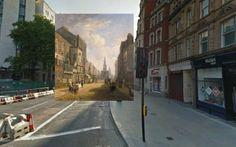 Londres entre passé et présent à l'aide de peintures classiques