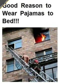 Good Reason To Wear Pyjamas | Click the link to view full image and description : )