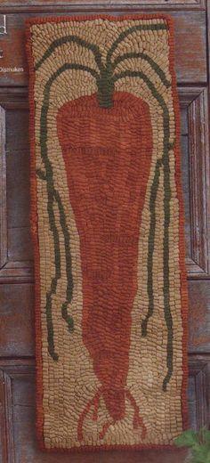 Lacey Jane Primitives original rug hooking patterns.