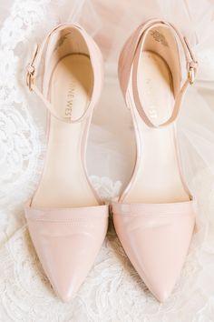 Bride's Shoes: Nine West - http://www.stylemepretty.com/portfolio/nine-west-3 Photography: Dana Cubbage Weddings - danacubbageweddings.com   Read More on SMP: http://www.stylemepretty.com/2016/09/19/pastel-spring-wedding-at-lowndes-grove/