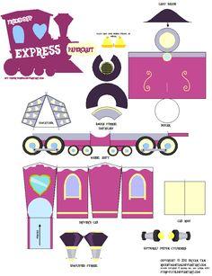 Friendship Express papercraft by RocketmanTan.deviantart.com on @deviantART