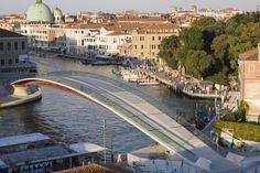 Ponte Calatrava, Venezia, Italy