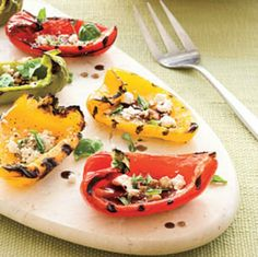 Peppers Plus Grilled--easy does it!