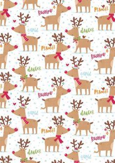 Rudolph Christmas Wallpaper