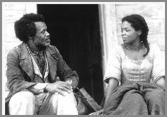 Danny Glover as Paul D. and Oprah Winfrey as Sethe, Beloved, 1998