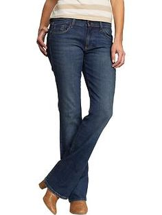 Women's The Sweetheart Boot-Cut Jeans | Old Navy