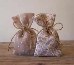 CUSTOM ORDER Rustic wedding 40 pc favor bags by myRusticDream