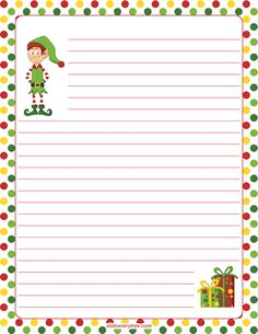 christmas writing paper template koni polycode co