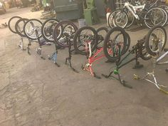 "20"" bmx bikes =12 bikes + 2 mountain bikes = 14 total redline,mongoose,rhino,ect ...all for $350 obo in Pacoima, CA (sells for $350)"
