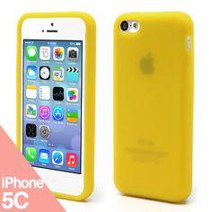 Funda iPhone 5C - Silicone amarillo - La Tienda de Doctor Manzana