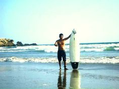 Playa #MarBravo Salinas-Ecuador /Tiempo de Surf / Foto de AlexL.I/WASA