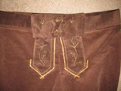 DIY Project Crazy: Homemade Lederhosen with out a pattern