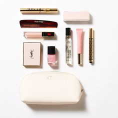 Pale Pink Cosmetic Case | The Daily Edited