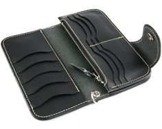 Rakuten: Wallet men gap Dis long wallet long wallet leather leather KC,s Kay chinquapin : Riders wallet #7- Shopping Japanese products from Japan