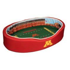 Minnesota Golden Gophers Stadium Pet Bed - M