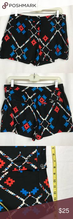 Urban Outfitters Ecote Aztec Print Shorts Size 8 Urban Outfitters Ecote Aztec Print Shorts Size 8 with pockets.  This is a pre loved item and has been checked for flaws, any seen flaws have been honestly noted & photographed. Because this item is pre loved there may be minor flaws that are typical of a used item so please that in mind as you make your purchase. Urban Outfitters Shorts