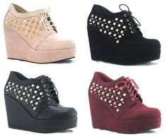 Sweet Cherry Store - Wedge Plataforma Spikes