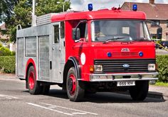 Fire Engine, Engineering, Ford, Trucks, Vehicles, Vintage Cars, Truck, Car, Technology