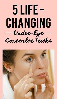 5 Life-Changing Under-Eye Concealer Tricks Every Woman Should Know Some of us are perfectly fine leaving the house without foundation, eyeshadow, or lipstick. But take away our under-eye concealer and you've left us with nothing but dark circles and proof Makeup Tricks, Makeup Videos, House Without Foundation, Apply Foundation With Brush, Applying Foundation, Foundation Application, Foundation Tips, Perfect Foundation, Beauty Make-up