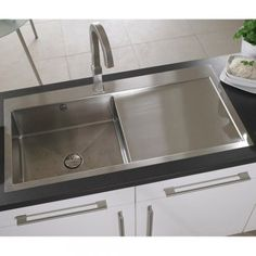 Astracast Vantage 1 0 Bowl Brushed Stainless Steel Kitchen Sink Rhd Grid From Taps