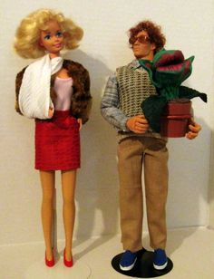 OOAK Little Shop of Horrors character dolls by DebsCharacterDolls, $80.00