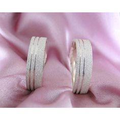 Alianças Namoro Prata Diamantadas 6mm 12g VJ2153