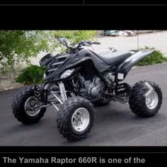 Raptor 660.   So fast!!