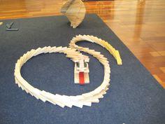 KAPLA snake,easy to make
