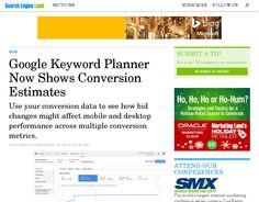 SEA: Umsatz Prognosen mit dem Google Keyword Planer