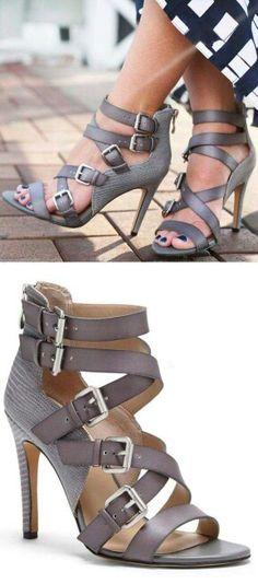 Hot strappy heels www.ScarlettAvery.com