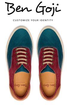 Unique Shoes Burgundy And Blue Leather, Unisex Colored Shoes For Women Unique Shoes, Unique Jewelry, Colored Shoes, Life Challenges, Blue Sneakers, Electric Blue, Camel, Burgundy, Unisex
