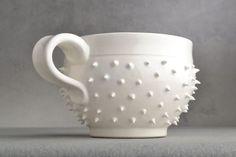 Spiky but still delicate, what a pretty mug!   Mr. Coffee, Coffee, Mugs