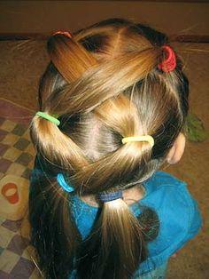 Cool hair awhhh cute for a little girl