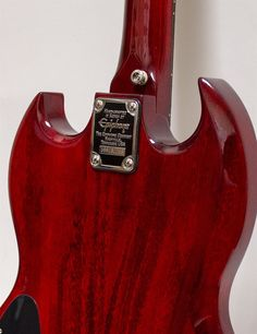 Used Epiphone EB-0 SG Electric Bass, Cherry
