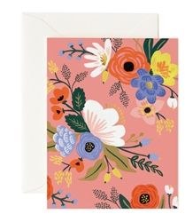 Rifle Paper Co. Lively Floral Pinks cards designed by Anna Bond
