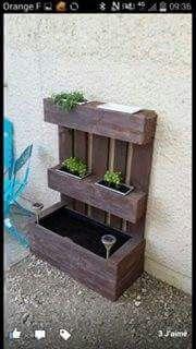 Porte plantes... ...
