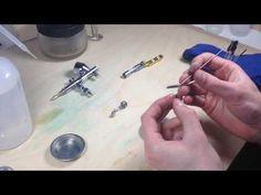 Plastikové modely a diorama | Airbursh - čištění - YouTube