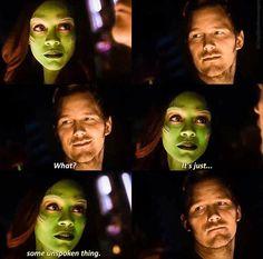 Gamora Guardians, Avengers 1, Chris Pratt, Love You More Than, Guardians Of The Galaxy, Justice League, Marvel Dc, Tv Series, Fangirl