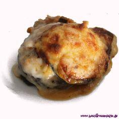 Linsenmoussaka - vegetarisches Moussaka-Rezept  Linsenmoussaka vegetarisch mit Auberginen vegetarisch