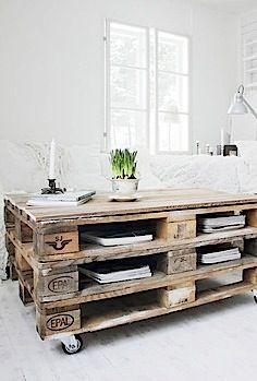 Möbel aus alten holzpaletten  Recycling: Coole Möbel aus alten Paletten – Teil 3 + VIDEO ...