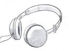 Image result for headphones drawing