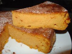 Tarta dulce de boniato